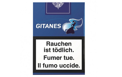 Gitanes Bleu ohne Filter Soft