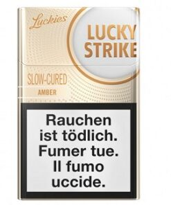 Lucky Strike Amber Box