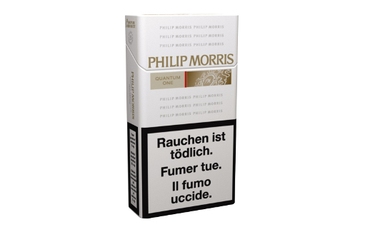 Philip Morris Quantum One Box 100's