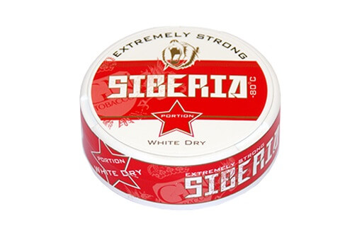Siberia Portionen  Degrees Extr.White 13g Do