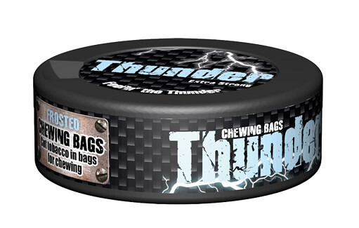 Thunder Chewing Bags Frosted 17.6g