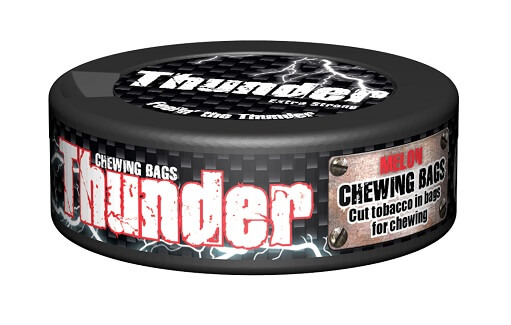 Thunder Chewing Bags Melon 17.6g