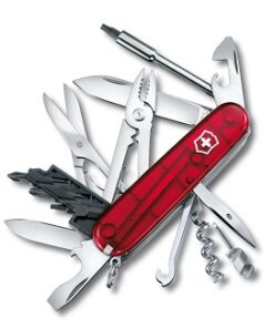 CyberTool M rot transparent