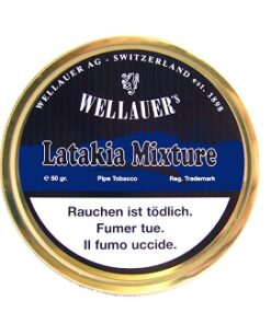 Wellauer's Latakia Mixture 50g Tin