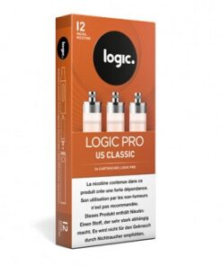 LogicPro Refill Pack US Classic 12mg Nik.