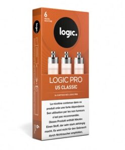 LogicPro Refill Pack US Classic 6 mg Nik.