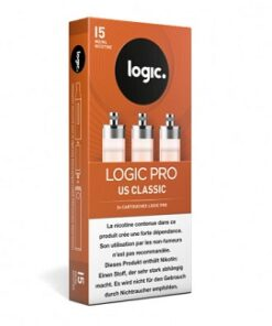 LogicPro Refill Pack US Classic 15mg Nikotin