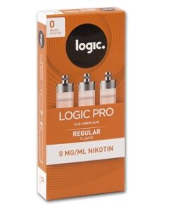 LOGIC Pro 3er Caps Regular Flavor 0mg