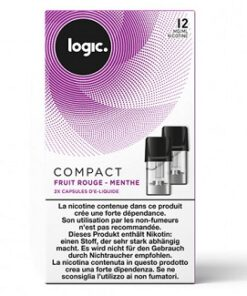 Logic Compact Refill Pack Berry Mint 12mg
