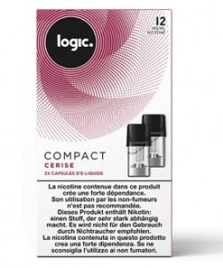 Logic Compact Refill Pack Cherry 12mg