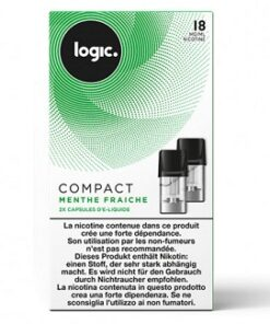 Logic Compact Refill Pack Menthol 18