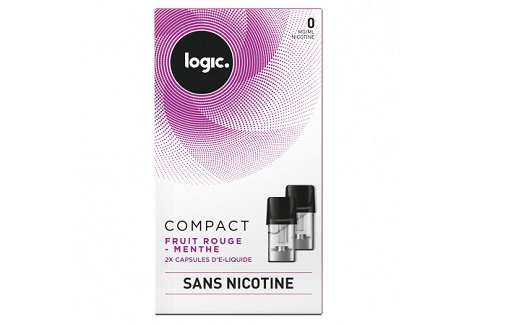 Logic Compact Refill Pack Berry Mint 0mg
