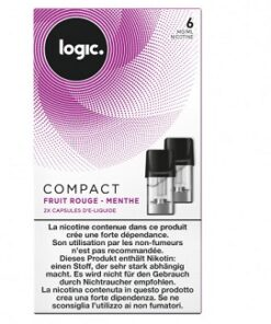 Logic Compact Refill Pack Berry Mint 6mg