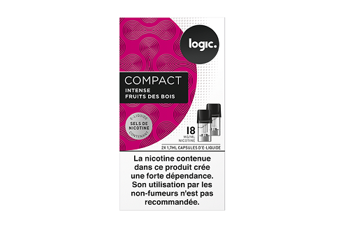 Logic Compact Intense Mixed Berries/Fruits Des Bois 18mg/ml