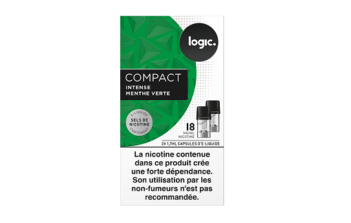 Logic Compact Refill Intense Menthol 18mg/ml
