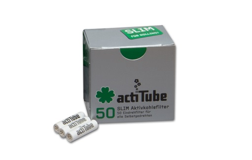 Actitube Slim 7 Mm Aktivkohle
